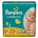 PAMPERS pelene 2 MINI (3-6kg) 27 komada