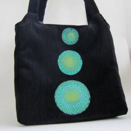 Poze Geanta unicat - Green mandala