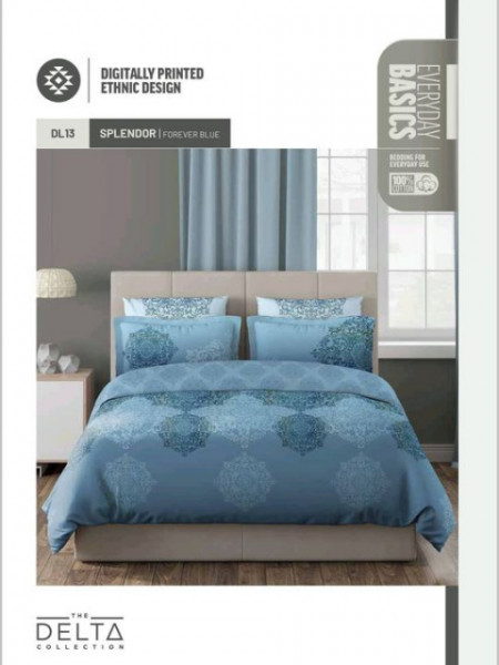 DELTA KING SIZE BEDSHEET BY D-DECOR MANY OTHER DESIGNS AVAILABLE AT OUR SHOWROOM
