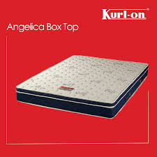 "Kurlon Angelica box top pocket Spring Matfresses 6+2 "" with euro Top & 10 years warranty"
