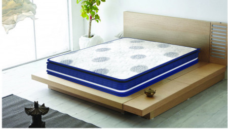 """Centuary Dynamo 8"""" Bonnel Spring Mattress with contour foam For Superior Bounce With 10 Years warranty"""