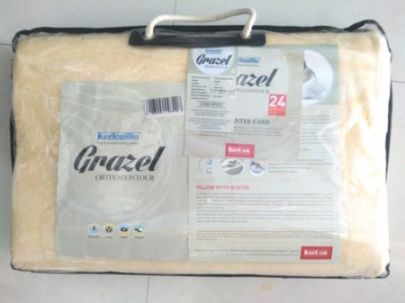 Kurlon Grazel ortho contour Memory Foam Pillow Buy Online
