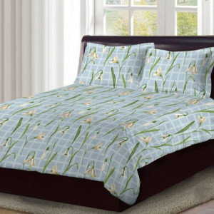 Bombay Dyeing Double king size 100% Cotton bedsheet