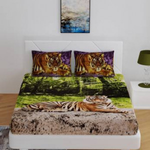 Bombay Dyeing Jungle safari bedsheet