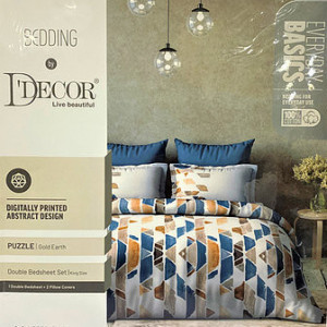 MAXIMA KING SIZE BEDSHEET BY D-DECOR MANY OTHER DESIGNS AVAILABLE AT OUR SHOWROOM