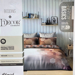 CHERISH KING SIZE BEDSHEET BY D-DECOR MANY OTHER DESIGNS AVAILABLE AT OUR SHOWROOM
