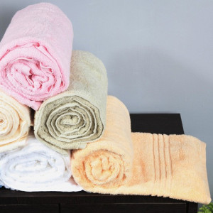 Bombay Dyeing Hand Towel Size 12 X 12 Inch 3 Pc Set Pink Colour