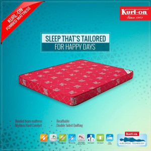"Kurlon Mattresses Fombed Bonded Foam Mattress 5"" With 5 Years Warranty"