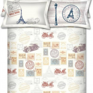 Bombay Dyeing Around The World King Size Bedsheet
