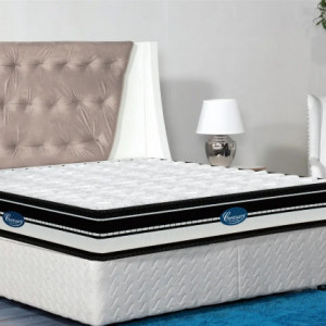 "Centuary Healthspa 8"" Theraupatic Mattress Coir Cool Gel Memory Foam With 10 Years Warranty"