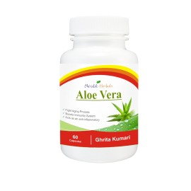 Aloe Vera Capsules, Extract, Ghritkumari, Immunity, Digestive system, Skin, Hair, Nervous system images