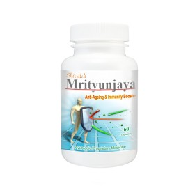 Mrityunjaya Capsules- Immunity, Natural Energy Boosters, Immune disorders, Immune System Boosters, Anti aging, Vitality, Wrinkles, Herbal Supplements, Dietary Supplements images