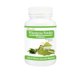Wheatgrass Powder Capsules , Extract, Triticum sativum, Herbal Supplements, Dietary Supplements images