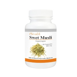 Swet Musli Capsules, Extract, Asparagus adscendens, Womens health, Female Body, Impotence, Vitality, Immunity, Female Reproductive System images