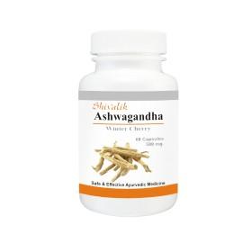 Ashwagandha Capsules, Extract, Withania somnifera, Rejuvenation, Stress, Fatigue, Depression, Immunity, Digestion images