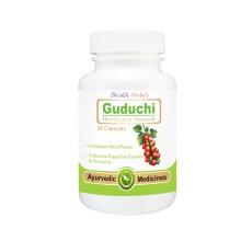 Guduchi Capsules , Tinospora cordifolia, Immunomodulators, Immunity, Memory, Mind power, Brain, Digestive System, Immune System