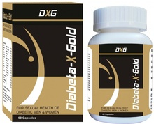 Diabeta X Gold (60 Capsules)- Diabetes and Sex, Diabetes, Mens Health, sperm count, Aphrodisiac, Diabetes Treatment, Diabetic, Diabetes Mellitus, Type 2 Diabetes, Diabetes Diet, Blood sugar, Blood Pressure, Herbal Supplements, Dietary Supplements
