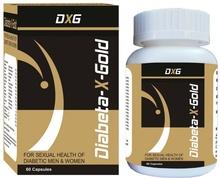 Diabeta X Gold (60 Capsules)- Diabetes , Diabetes, Mens Health, sperm count, Aphrodisiac, Diabetes Treatment, Diabetic, Diabetes Mellitus, Type 2 Diabetes, Diabetes Diet, Blood sugar, Blood Pressure, Herbal Supplements, Dietary Supplements