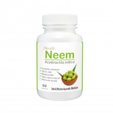 Neem (180 Capsules) , Extract, Azadirachta indica, Blood Purifier, Skin Diseases, Digestion, Fungal Infection, Bacterial Infection, Reproductive System, Respiratory System, Herbal Supplements