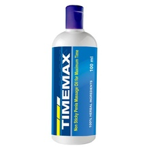 Timemax Oil (100 ml) Non Sticky Penis massage oil for maximum Time