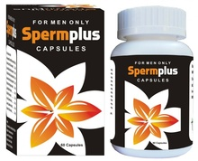 Sperm Plus (60 Capsules) - Sperm, Sperm Count, Infertility, Impotence, Male Infertility, Herbal Supplements, Dietary Supplements