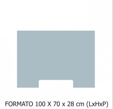 100X70X28 cm (LxHxP)