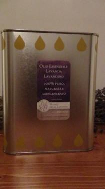 tanica di 1 litro olio essenziale di lavanda lavandino