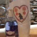 500 ml detergente mani lavanda con asciugamano ricamato montagna marmotta 40x60 cm