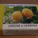 sapone artigianale limone e verbena 100gr made in Italy
