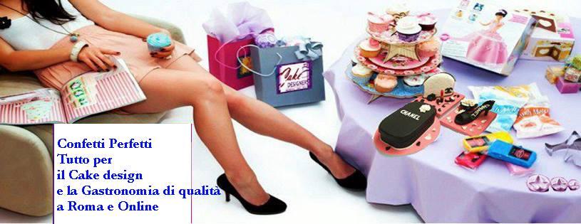 Negozio Cake Design Roma Ostiense : DECORAZIONI DOLCI Confetti Perfetti - vendita online