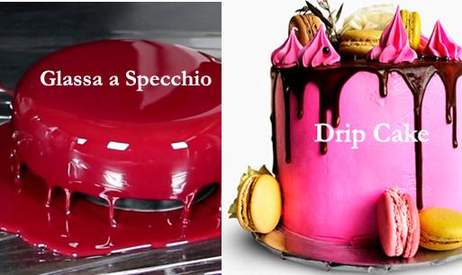 Glassa a Specchio e Drip Cake