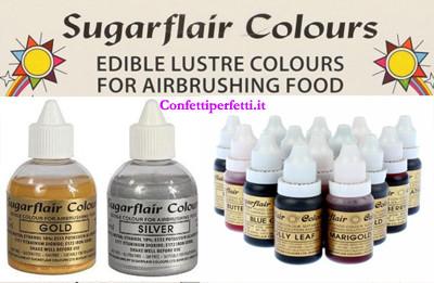 Coloranti Liquidi e per Aerografo Sugarflair
