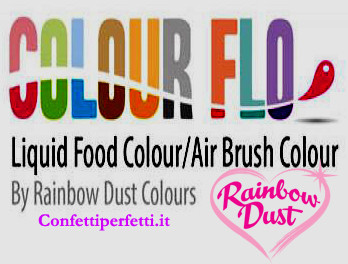 Coloranti Liquidi per Aerografo Rainbow Dust