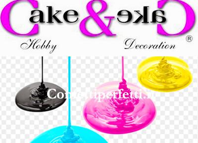 Coloranti Liquidi per Aerografo Cake & Cake