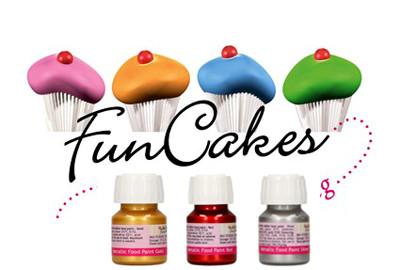 Coloranti Metallizzati in Gel Funcakes