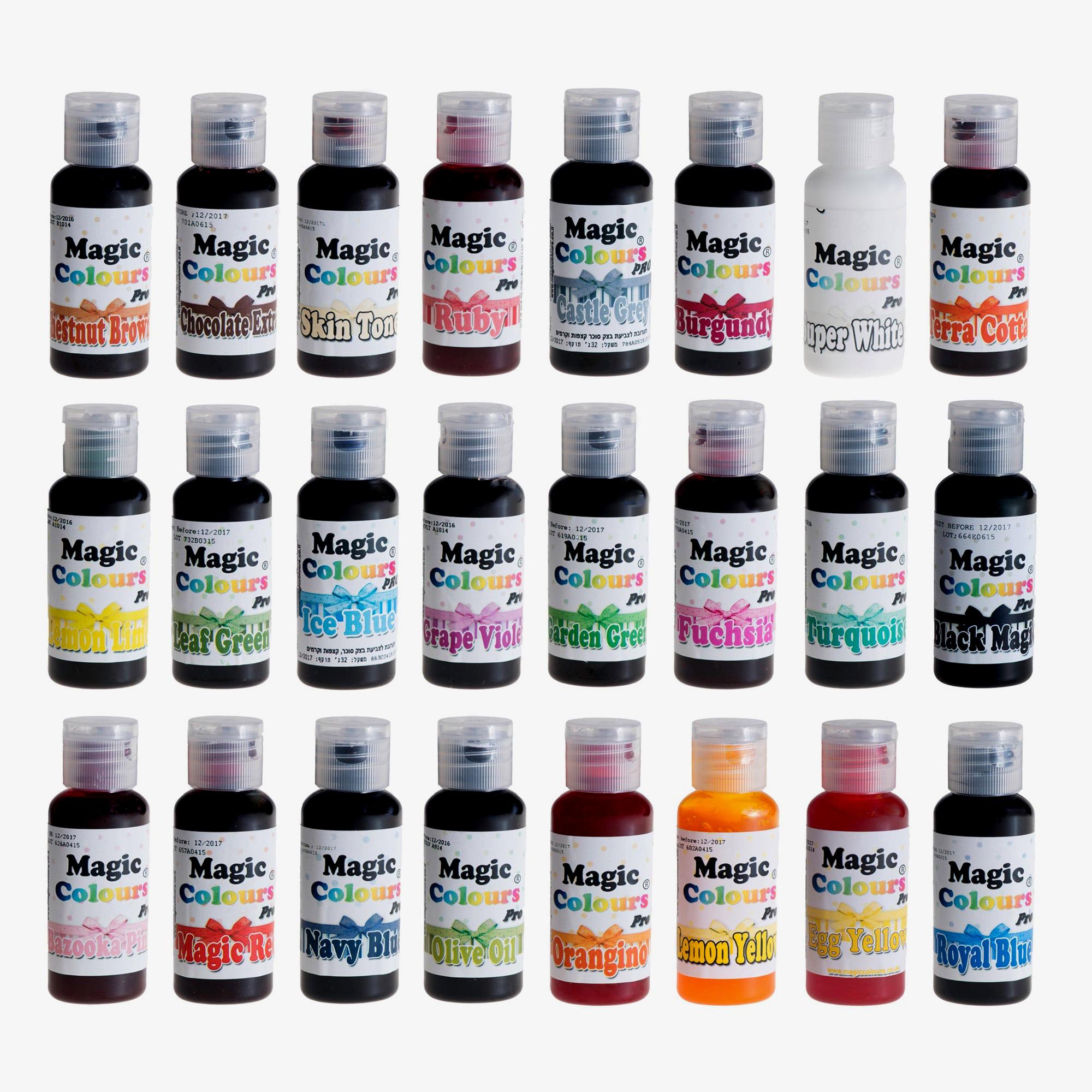 Pro Gel Magic Colours
