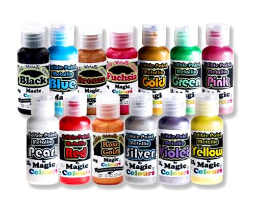 Coloranti Metallizzati in Gel Magic Colours