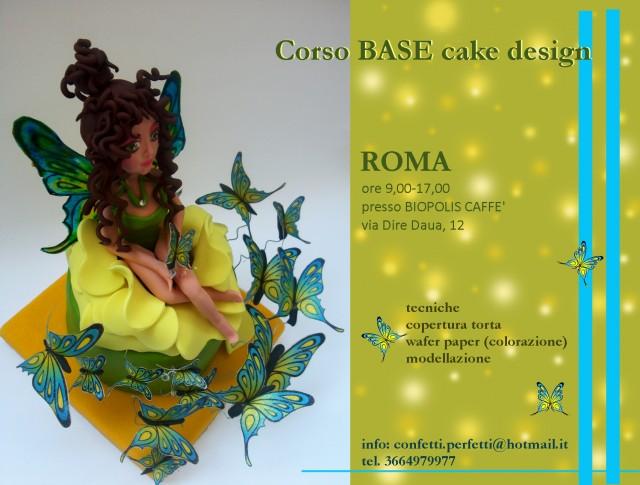 Corsi Cake Design Roma Sud : Corso di Modelling e Wafer Paper a Roma.