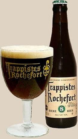 Birra Trappista Rochefort 8.