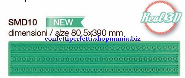 Nuovissima greca in silicone per decoro linea magic decor smd10 pavoni - Home design decoro shopping ...