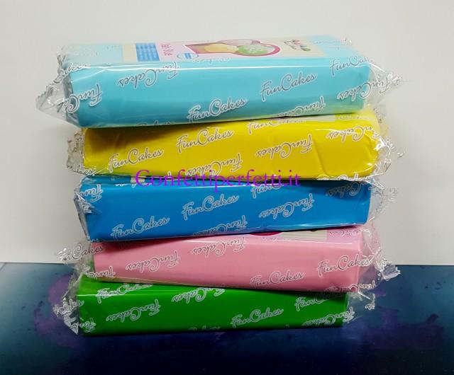 1 kg blu mare pasta di zucchero funcakes for Cucinare 1 kg di pasta