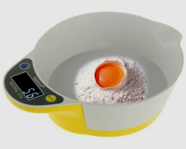 Bilancia elettronica lcd da cucina per pesare liquidi - Bilancia elettronica da cucina ...
