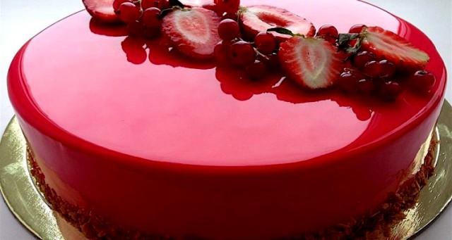 Glassa a specchio neutra brillante di altissima qualit puoi colorarla e aromatizzarla a tuo - Glasse a specchio alla frutta ...