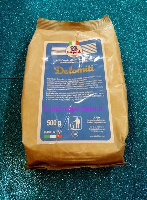 Idrorepellente zucchero a velo vanigliato 500 gr for Decorazioni zucchero a velo