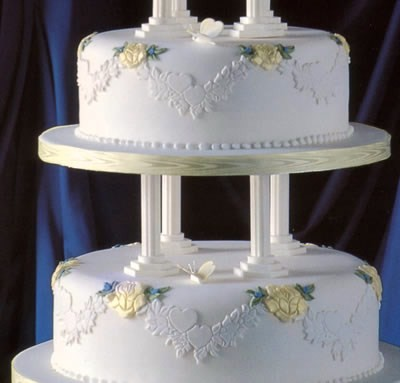 Negozio Cake Design Roma Ostiense : Wedding Cake.