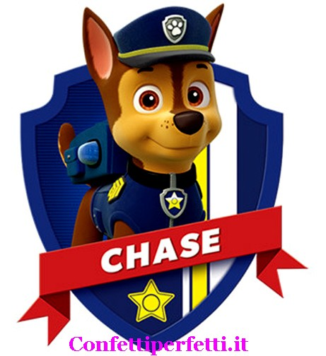 Statuina di chase del cartone paw patrol