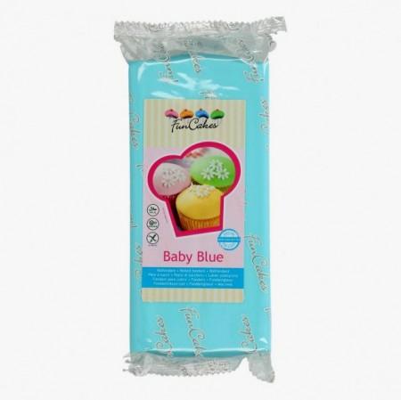 1 Kg. Celeste Baby Blue. Pasta di zucchero FunCakes. immagini