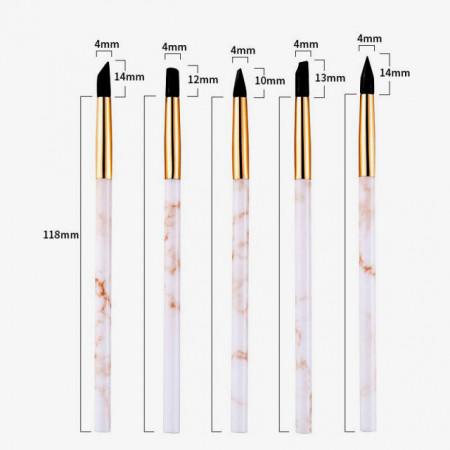 pennello in silicone 4 mm