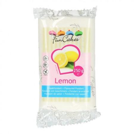 Aromatizzata Limone Bianco. Pasta di zucchero FunCakes