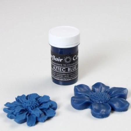 Blu Azteco. Linea Pastello. Coloranti in Gel concentrati.Sugarflair